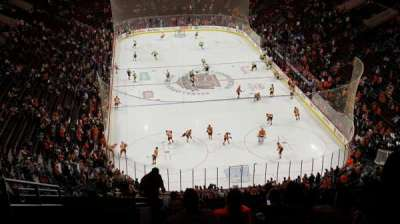 Wells Fargo Center, section: 219, row: 14, seat: 3