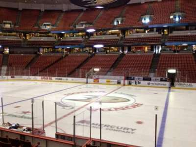 Honda Center, section: 221, row: K, seat: 8