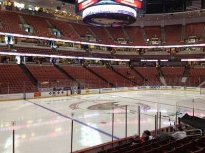 Honda Center, section: 210, row: K, seat: 7