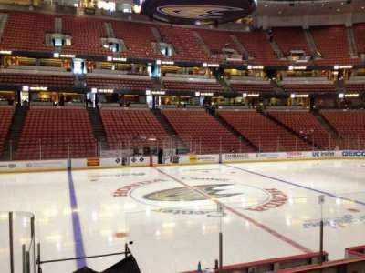 Honda Center, section: 209, row: K, seat: 7