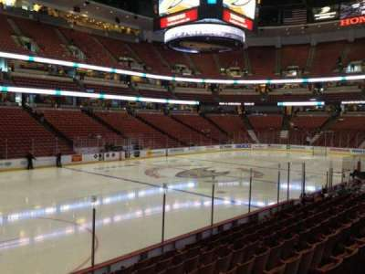Honda Center, section: 211, row: K, seat: 5