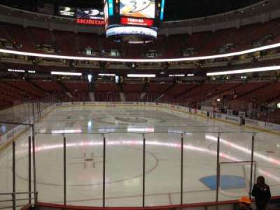 Honda Center, section: 216, row: L, seat: 5