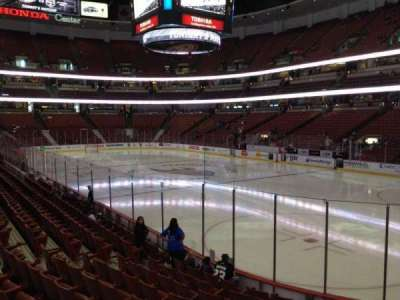 Honda Center, section: 218, row: K, seat: 6
