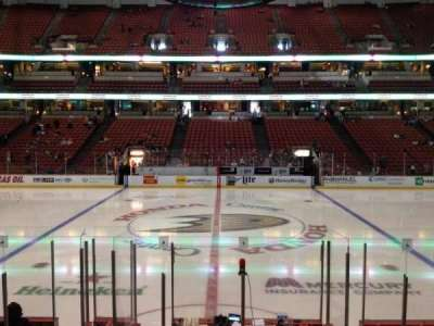 Honda Center, section: 222, row: K, seat: 7