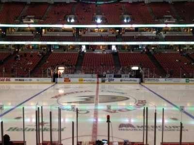 Honda Center, section: 222, row: K, seat: 7