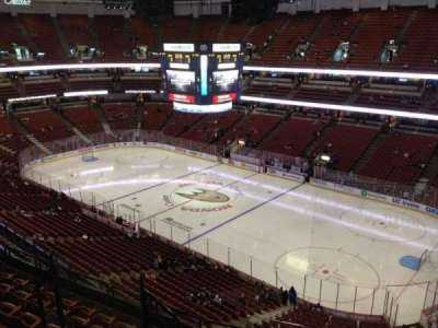Honda Center, section: 429, row: H, seat: 7