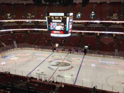 Honda Center, section: 432, row: H, seat: 8