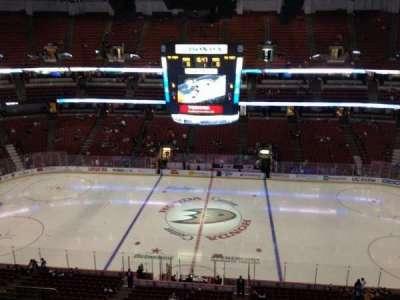 Honda Center, section: 433, row: H, seat:  6