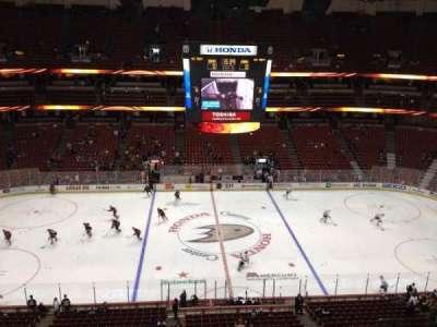 Honda Center, section: 434, row: H, seat: 4