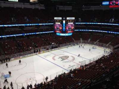 Honda Center, section: 438, row: H, seat: 6