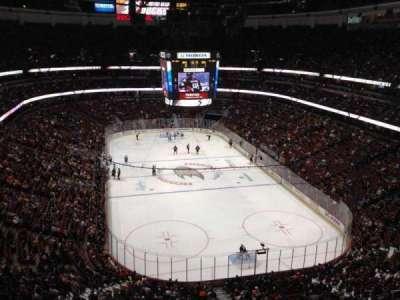 Honda Center, section: 402, row: J, seat: 8