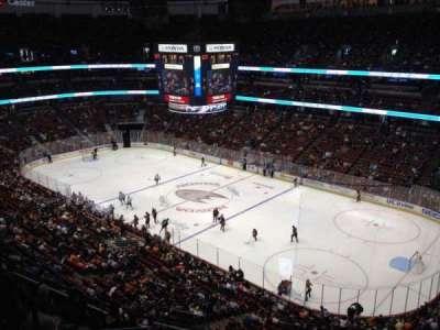 Honda Center, section: 407, row: H, seat: 4