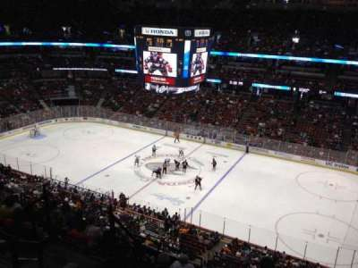 Honda Center, section: 409, row: H, seat: 8