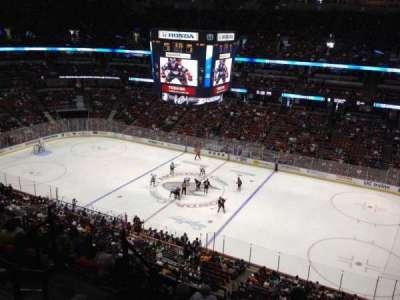 Honda Center, section: 409, row: H, seat: 8