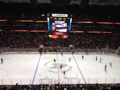 Honda Center, section: 434, row: H, seat: 1