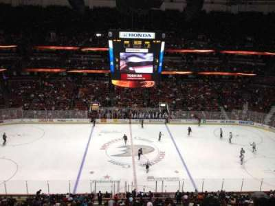 Honda Center, section: 434, row: H, seat: 1