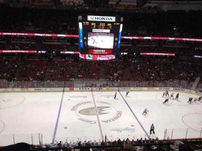 Honda Center, section: 412, row: E, seat: 5