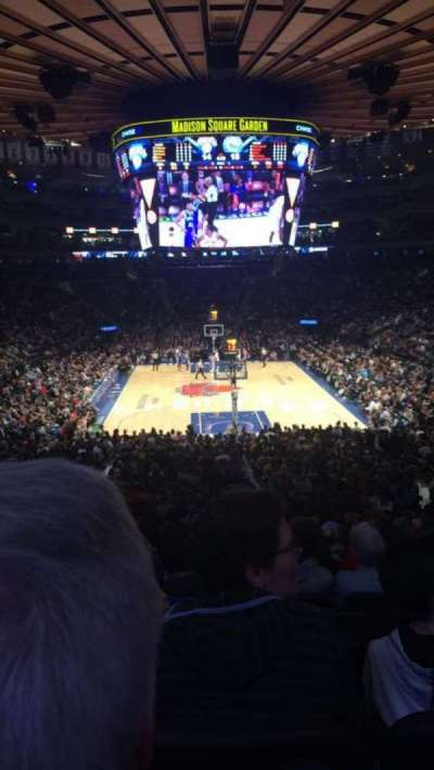 Madison Square Garden, section: 112, row: 22, seat: 12