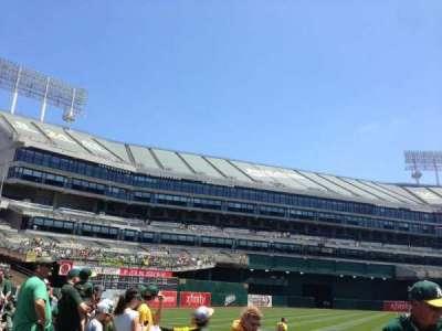 Oakland Alameda Coliseum, section: 126, row: 4, seat: 3