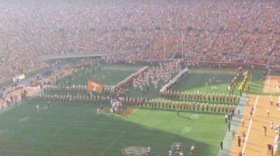 Neyland Stadium, section: JJ, row: 7, seat: 6