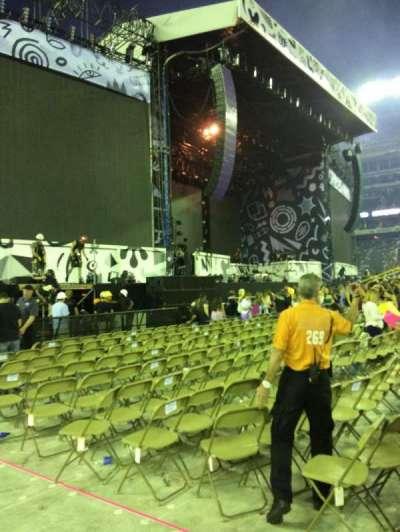MetLife Stadium, section: 6, row: 10, seat: 2