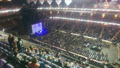 Verizon Center, section: 402, row: N, seat: 19