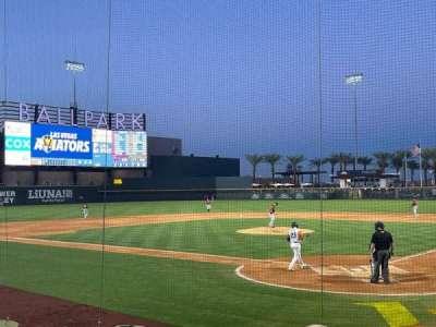 Las Vegas Ballpark, section: 112, row: K, seat: 2