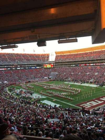 Bryant-Denny Stadium, section: U1a, row: 5, seat: 1