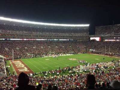 Bryant-Denny Stadium, section: U1P, row: 2, seat: 13