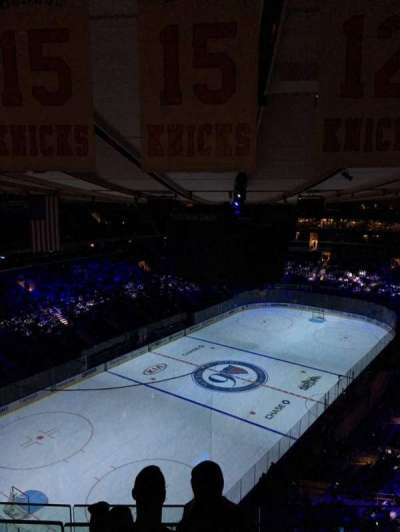 Madison Square Garden, section: 322, row: BS 3, seat: 17
