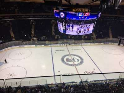 Madison Square Garden, section: 312, row: 2, seat: 1