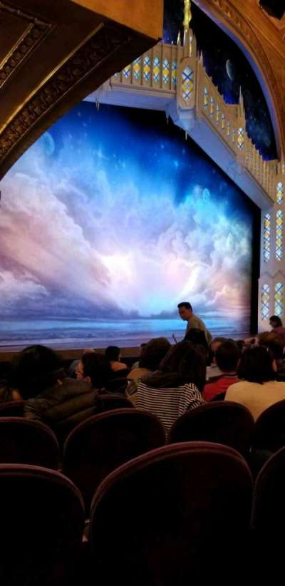 Eugene O'Neill Theatre, section: Orch Left, row: K, seat: 25