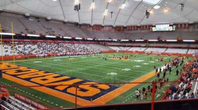 Carrier Dome, section: 209, row: c, seat: 106