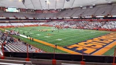 Carrier Dome, section: 215, row: e, seat: 101