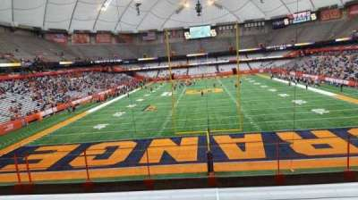 Carrier Dome, section: 247, row: g, seat: 18