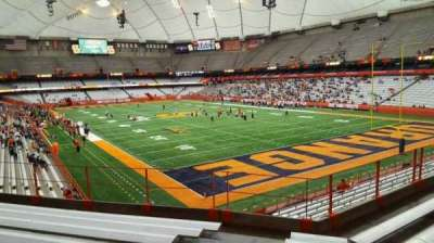 Carrier Dome, section: 250, row: g, seat: 101