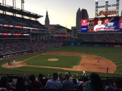 Progressive Field section 342
