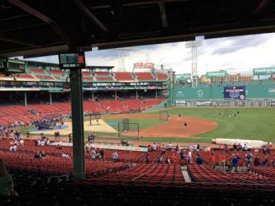 Fenway Park, section: 13, row: 11, seat: 10