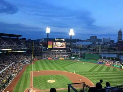 PNC Park, section: 312, row: N, seat: 6