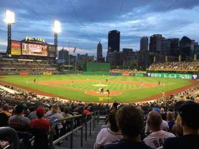 PNC Park, section: 116, row: R, seat: 10