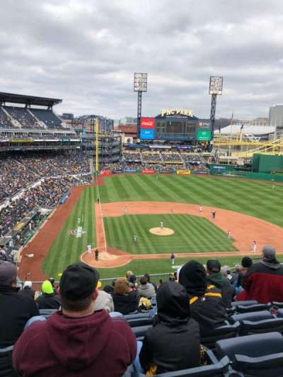 Pnc Park Section 212 Row K Seat 11
