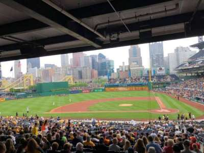 PNC Park, section: 120, row: HH, seat: 2
