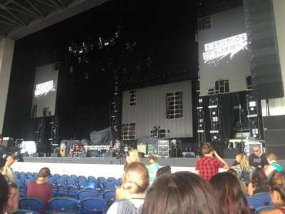 PNC Music Pavilion, section: 1, row: K, seat: 18