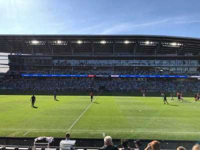 Allianz Field, section: 13, row: 8, seat: 8