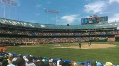 Oakland Alameda Coliseum, section: 109, row: 6, seat: 10