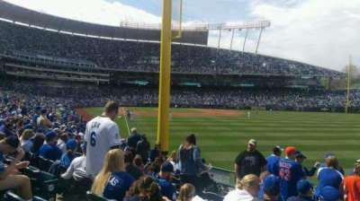 Kauffman Stadium section 148