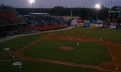 Five County Stadium section 205