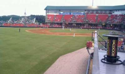 Five County Stadium section GA