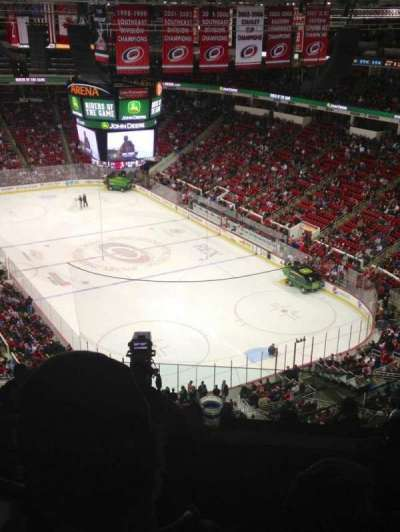 PNC Arena, section: 317, row: J, seat: 5