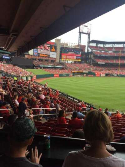 Busch Stadium section LFL